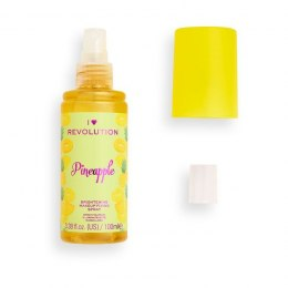I Heart Revolution Brightening Makeup Fixing Spray utrwalający makijaż Pineapple 100ml