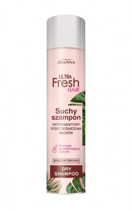 Joanna Ultra Fresh Hair Suchy Szampon do włosów Brown 200ml