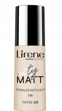 LIRENE City Matt Fluid MAT-WYGŁ. 208 TOFFEE