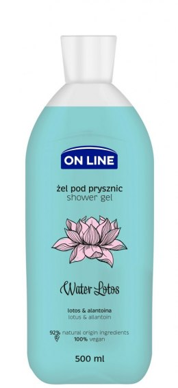 On Line Disney Żel pod prysznic Water Lotus 500ml